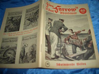 Jörn Farrow's  U-Boot  Abenteuer ,Original , 1953 , Nr. 48 , selten