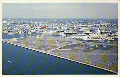 Logan International Airport  Boston  Massachusetts  Airplane  Tower     Postcard