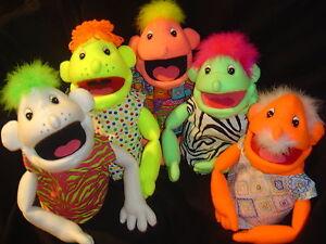 1 CUSTOM blacklight BOY PUPPET standard performance size muppet ministry pro