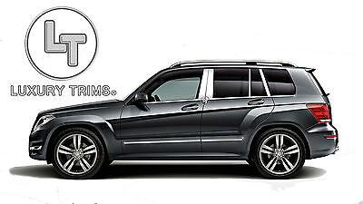 Mercedes GLK Edelstahl Chrom Säule Pfosten Von Luxury Trims 2013-2015 (8pc)