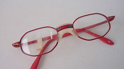Babybrillen Kleinkinder Brillen rot mit weichem Sattelsteg kleine Brillen Gr. K