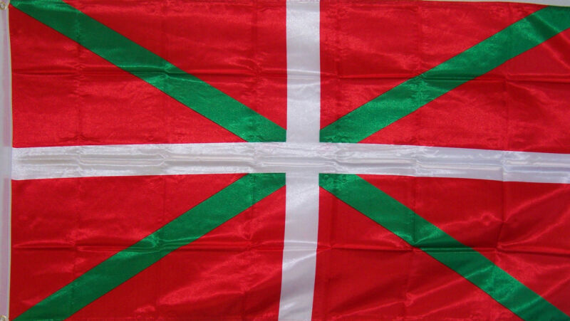 BASQUE SPAIN SPANISH FLAG NEW 3x5ft better quality usa seller