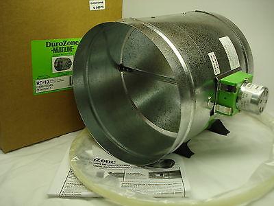 Durozone 9 Nine Inch Round Hvac Motorized Air Damper Dampner 3 Wire 24v Ac