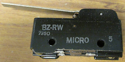 Honeywell Micro Switch Bz-rw Limit Switch