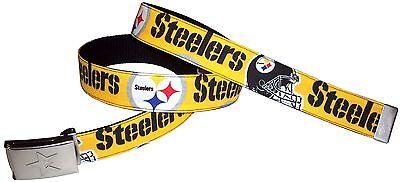 (Pittsburgh Steelers Belt Buckle Football Fan Game Gear Team Apparel Pro NFL Shop)