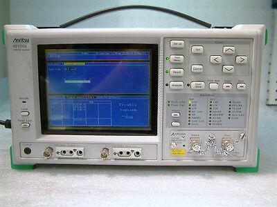 Anritsu Mp 1550a Pdhsdh Anaylzer Opt. 06 07 10 Includes Optical Module Mp0109a