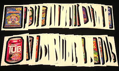 2007 Topps Wacky Packages ANS5 Series 5 COMPLETE BASE SET of 55 nm+