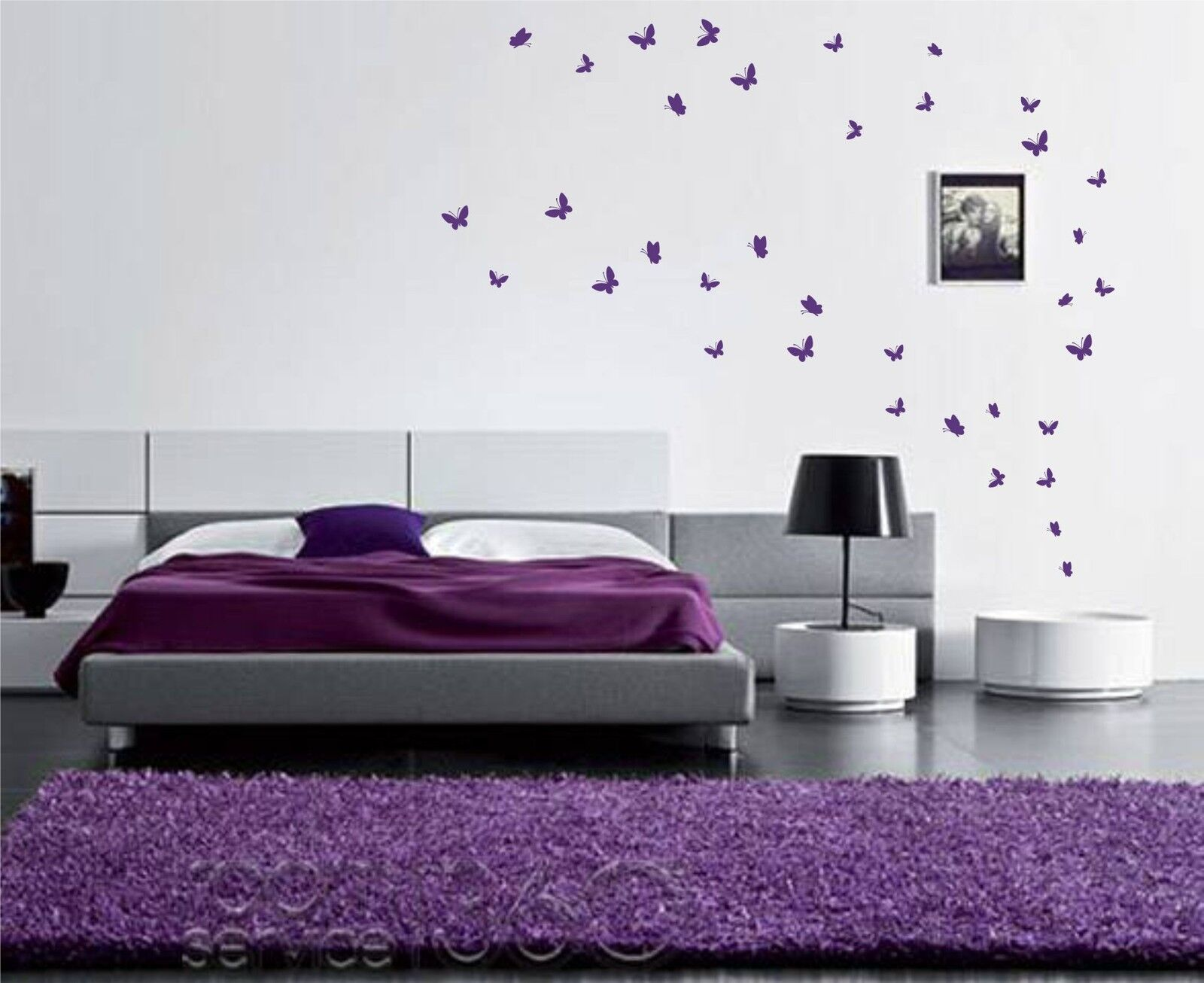 Home Decoration - 42 Butterfly Stickers (UP TO 42)  Wall Art Butterflies vinyl wall decal decor