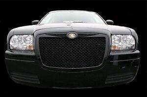 Chrysler 300 Bentley black mesh grill chrome bently grille