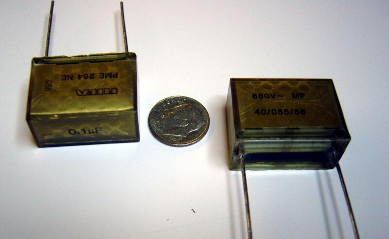 .1uf 660V AC / 1600V DC (20 Pcs) Metal Film Capacitor RIFA PME264