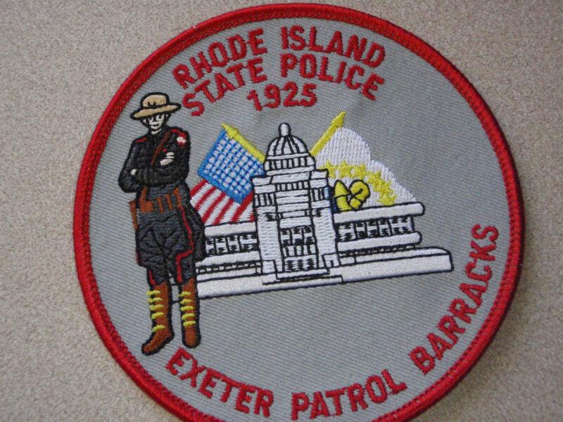 RHODE ISLAND STATE POLICE  EXETER   BARRACKS  STATE POLICE HIGHWAY PATROL