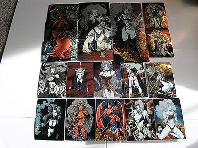 Lady Death 2 100 Card Chromium Set by Krome 1995
