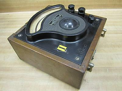 General Electric 3680916 Vintage Industrial Amp Meter Wo Lid Antique