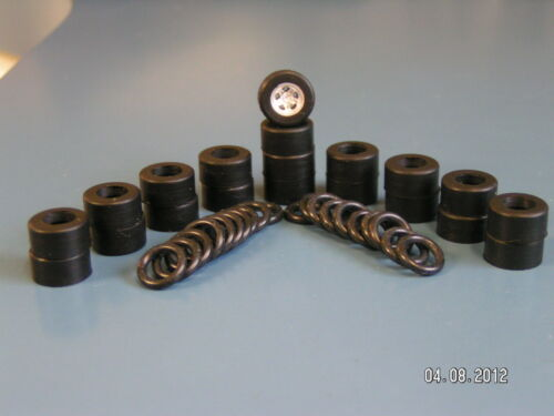 **LOOK** 10 Complete Sets New Silicone Tires AFX/AW/Tyco
