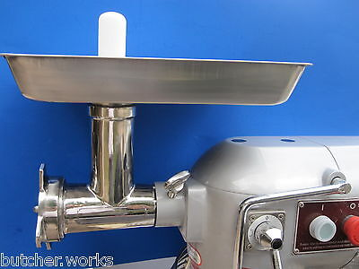 Ss Meat Grinder Chopper Replacement Attachment For Size 12 Grinder And Mixers