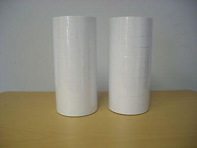 2 Line Plain White Labels For Mx-6600 10x10 Price Gun 20 Rolls 24000 Labels