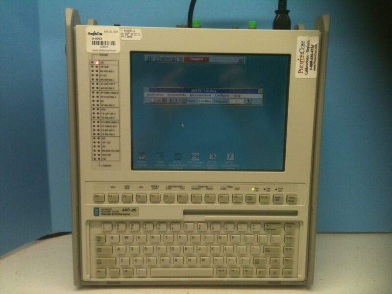 W&g  Ant20 3035/02 Acterna Advanced Network Tester
