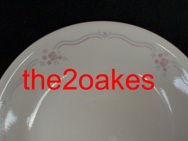 6 Corelle ENGLISH BREAKFAST Bread Plates Dessert Salad