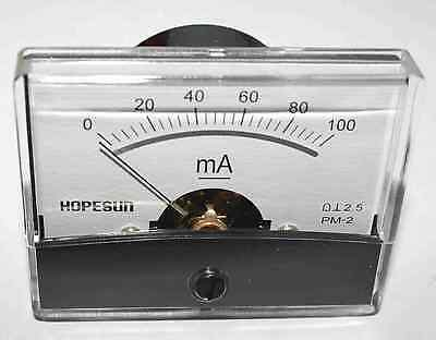 Velleman Panel Meter 0-100ma Dc 4.7cm X 6cm Aim60100