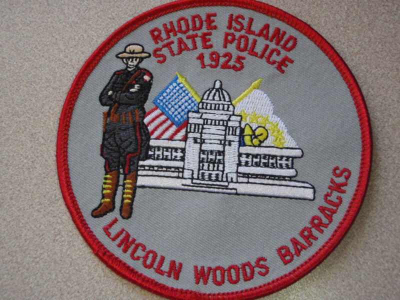 RHODE ISLAND STATE POLICE  LINCOLN WOODS  BARRACKS  Rhode Island state