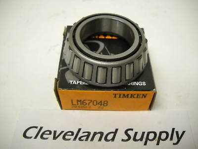 Timken Lm67048 Tapered Roller Bearing Cones Set Of 2 New In Box