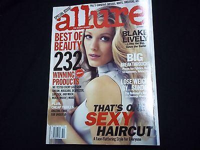 2010 OCTOBER ALLURE MAGAZINE - BLAKE LIVELY - FASHION SUPER MODELS - A 1444
