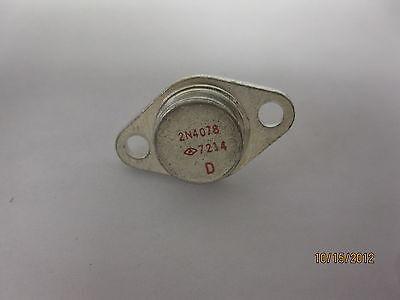 2n4078 To-3 1a 32v Pnp Germanium Transistor Vintage