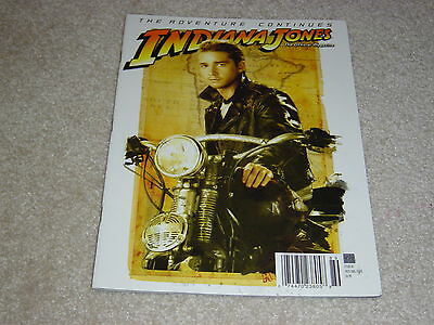 Indiana Jones Official Magazine  2 Shia Labeouf July August 2008 Variant