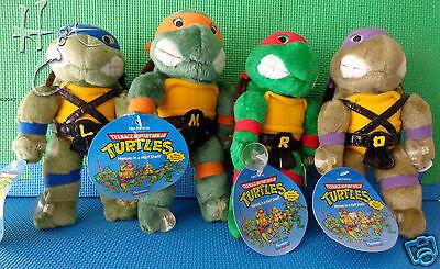 Set of 4 Vintage Teenage Mutant Ninja Turtles 9
