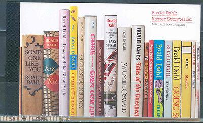 GREAT BRITAIN ROALD DAHL PRESTIGE BOOKLET 4 SOUVENIR SHEETS