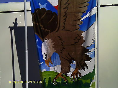 Eagle Print beach towel