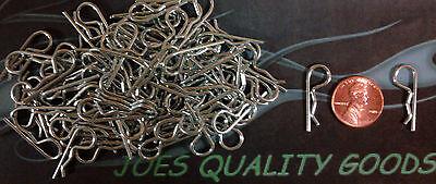 100 1/10 RC Body Clips Pins Team Associated sc10 sc8 rc8 gt2 mgt t4 -