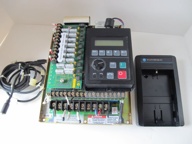 ALLEN BRADLEY AC Motor-DRIVE-Control  Cat # 1336S-BRF20-AN-EN4-L6 Adjustable Hz