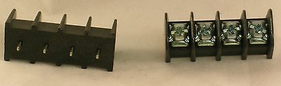 Vernitron Molex Terminal Block Connector Nos Pn 72504c50 Single Row 4 Position