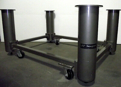 Newport Optical Table Base Set Nn-45 W Casters 3 Ft. X 4 13 Ft.