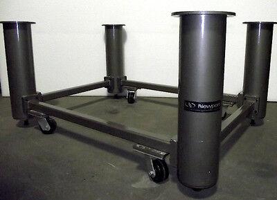 Newport Optical Table Base Set Nn-45 W Casters 3 Ft. X 4 13 Ft.