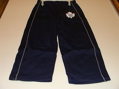 2012 Toronto Maple Leafs NHL Hockey Age 6x7 Team Kids Child Fleece Pants Mighty