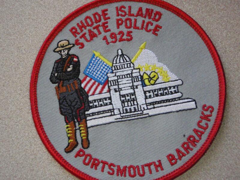 RHODE ISLAND STATE police PORTSMOUTH BARRACKS  HIGHWAY PATROL  TROOPER