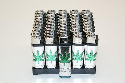NEW Resale Lot of 50 Pot Cigarette Lighters-Party/Gift/Promo Wholesale