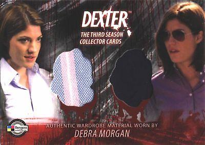 DEXTER 3 D3-C20 DEBRA MORGAN CARPENTER COSTUME CARD (Carpenter Costume)