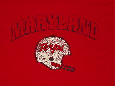 Umd Maryland Football Terrapins Terps  Long Sleeve Womens T Shirt  Nwt   Medium