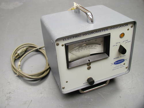 Hygrodynamics Electric Hygrometer 15-3001 15-3080