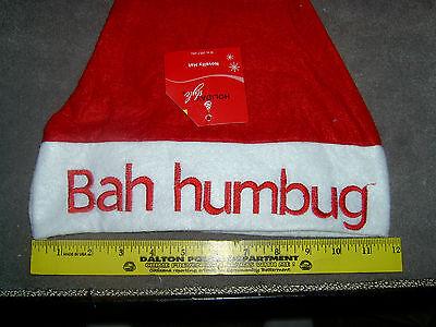 Novelty Christmas Hat Bah humbug (A-8) - Christmas Novelty Hats