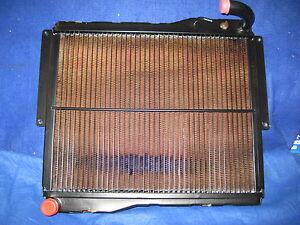 MGB RADIATOR  1976 TO 1980   NRP1154  BRASS TANK COPPER CORE RADIATOR.