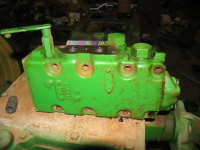 John Deere 720 730 Diesel Remote Cylinder Valve Housing