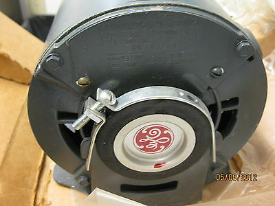 Ge Motor 5xbg027e 1725 Rpm 230v 14 Hp Single Phase