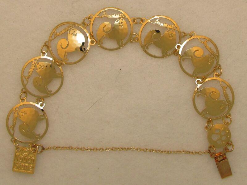 Samoyed Jewelry  Gold Bracelet by Touchstone