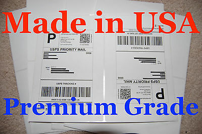 500 Round Corner-shipping Labels-made In Usa-self Adhesive-usps Ups Fed-8.5x11