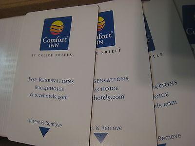 Comfort Inn Magnetic Key Cards New Never Programmed  Lot Of 50 Ilco Saflok Brand