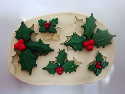 Christmas #2, Silicone Mold Chocolate Polymer Clay Jewelry Soap Melting Wax